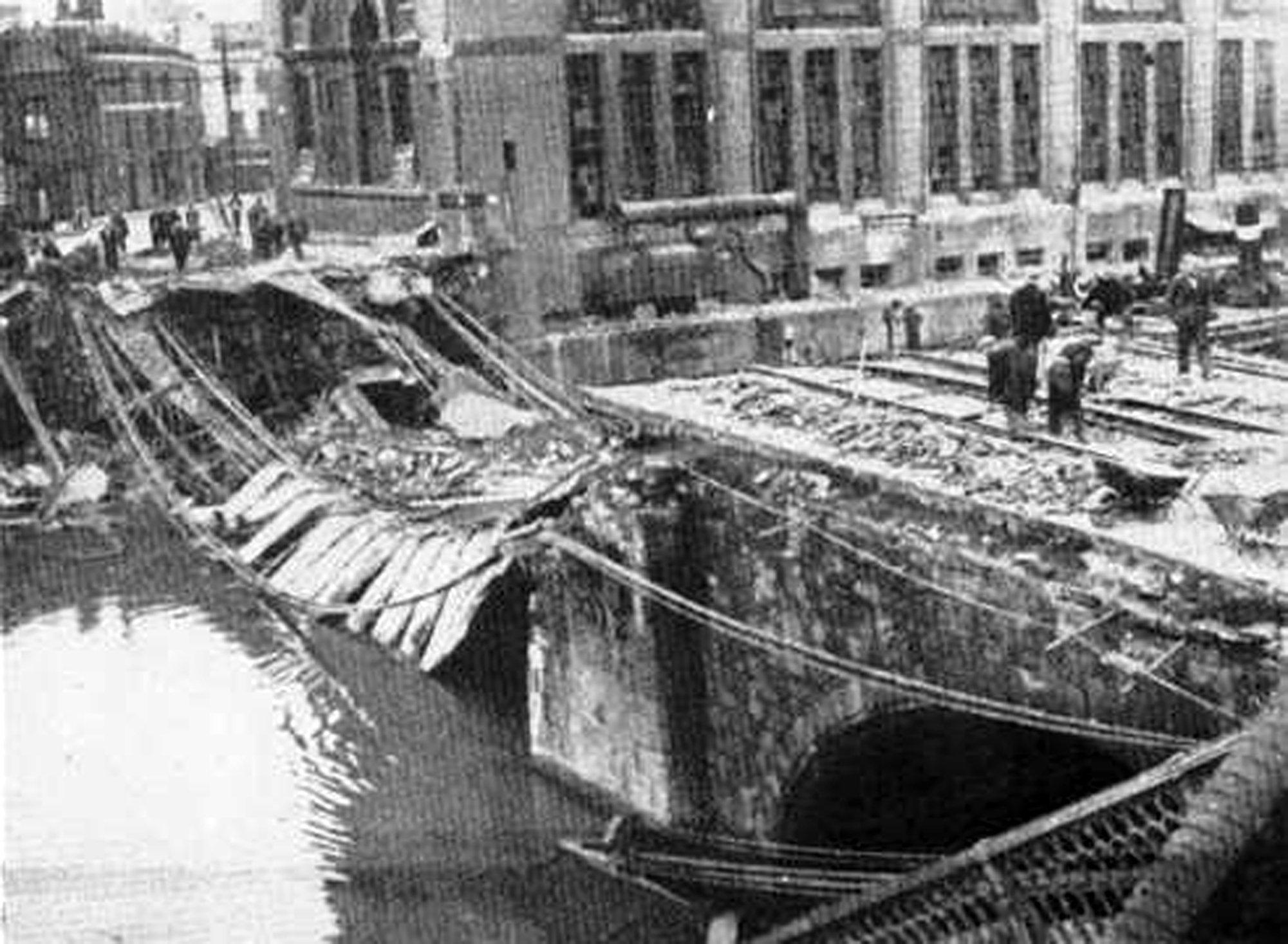 St Phillips Bridge 1941