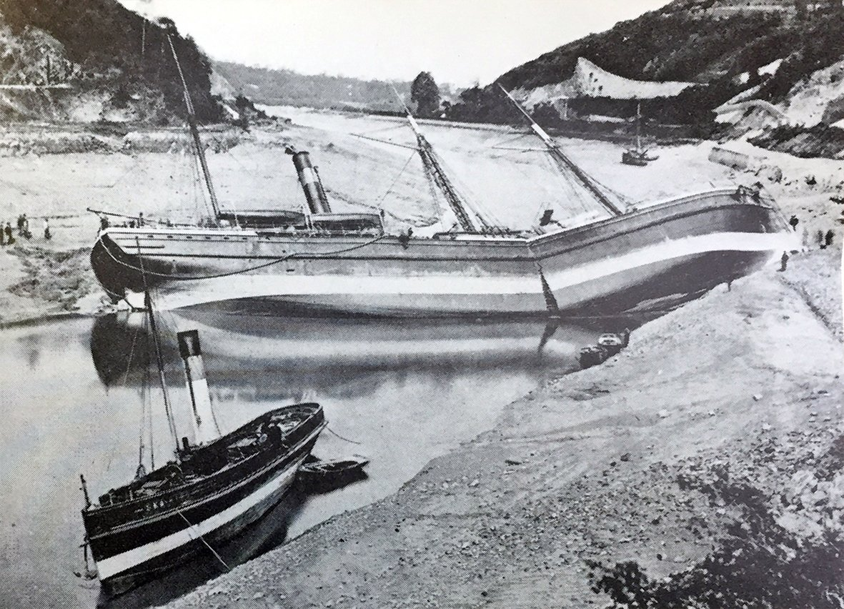 Gypsy 12th May 1878 tug Sea King