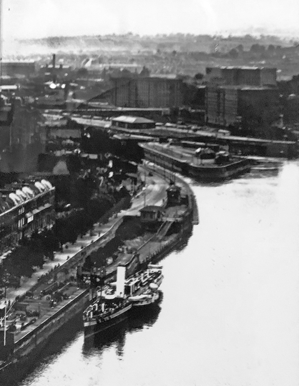 Hotwells from Clifton Suspension Bridge
